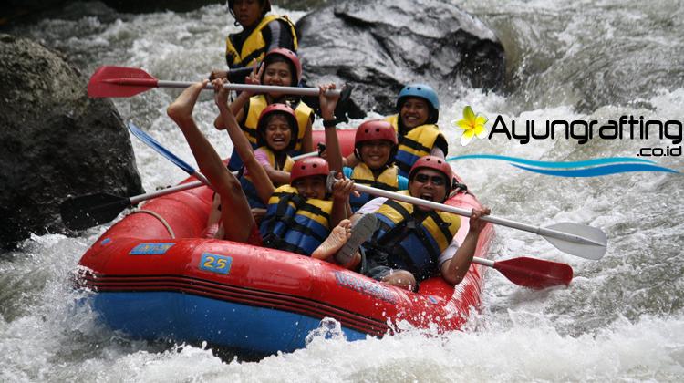 Rafting di Sungai Ayung Bali